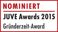 Awards 2015 Logo Nominierte Kartellrecht